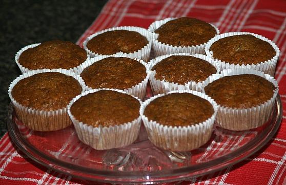 Orange Muffin Recipe with Zucchini