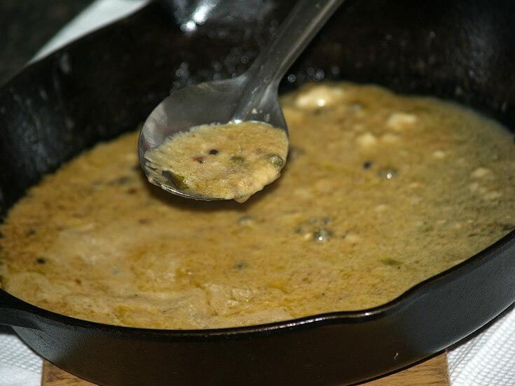 Mustard Cream Sauce for Oven Roasted Chicken