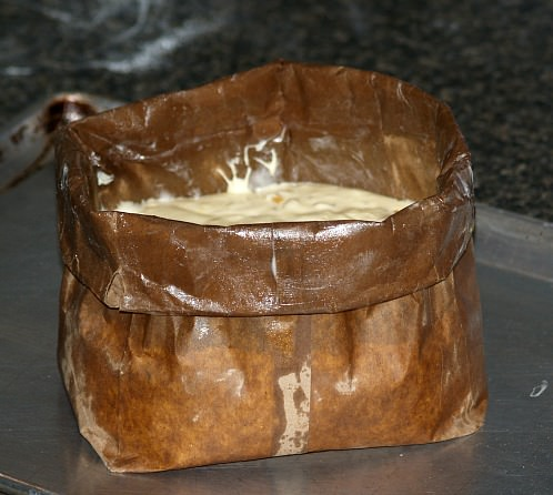 Batter in Bag Mold for Panettone