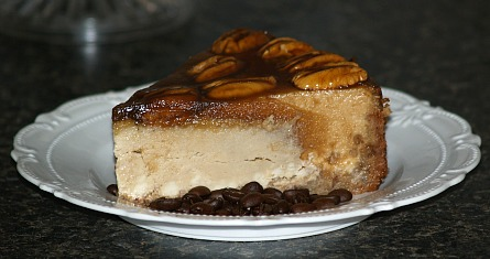 how to make pecan caramel cheesecake recipe