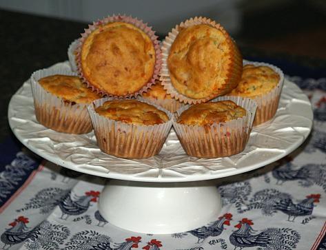 Pepper Cheese Muffins
