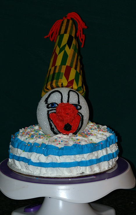 Pinata Clown Cake Recipe
