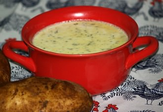 how to make potato soup recipe