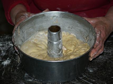 Dough for Potica cake