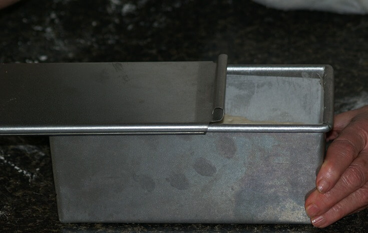 Close Pullman Pan After Rising