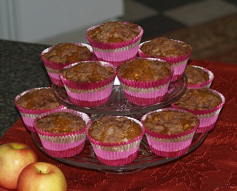 How to Make Apple Muffins with Pumpkin