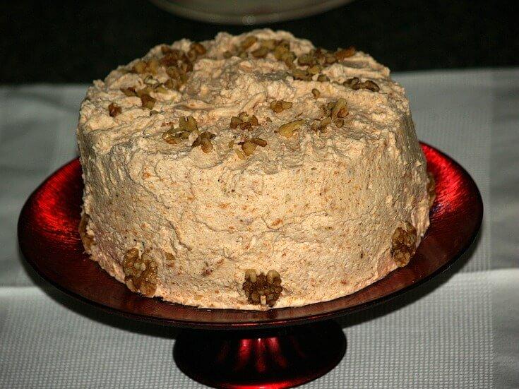 Pumpkin Spice Cream Torte