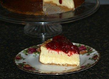 how to make cheesecake with a raspberry lemon sauce