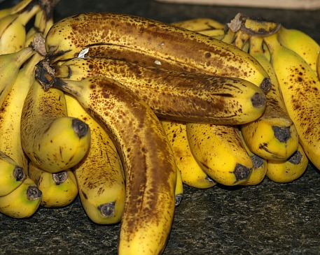 Perfect Banana Ripeness to Use in Recipes