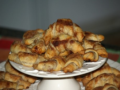 Rugalach Recipe with Apricot Almond Filling