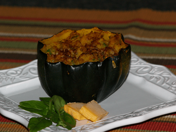 Sausage Stuffing Recipe for Acorn Squash