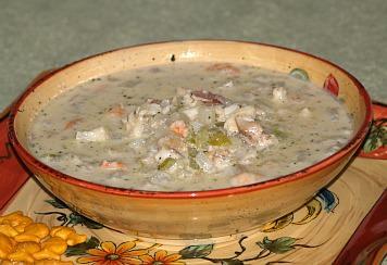 how to make a seafood chowder recipe