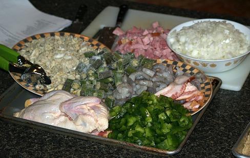 seafood gumbo ingredients