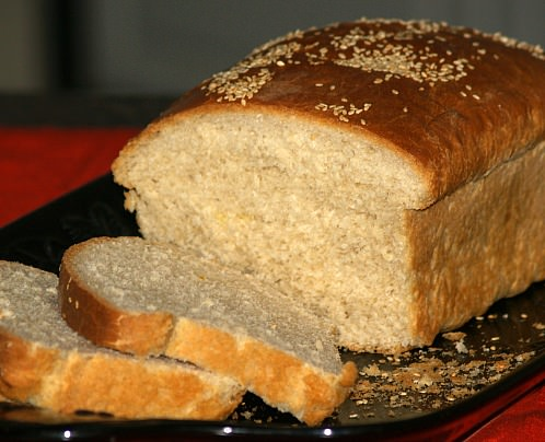 Sesame Topped Egg Bread Recipe