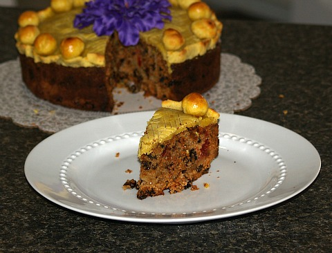 Piece of Simnel Cake Recipe