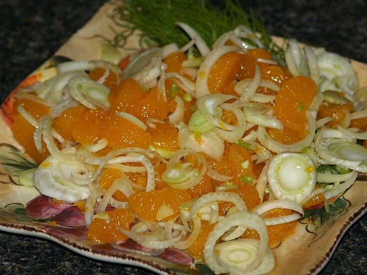 Simple Fennel Orange Salad Recipe