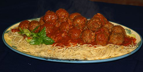 Spaghetti and Meatballs for a Crowd