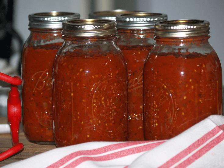 Chunky Spaghetti Sauce Recipe