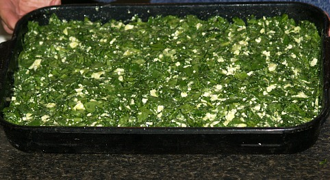 Spanakopita Spinach Layer