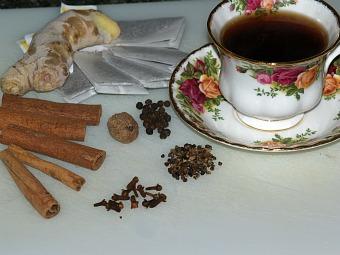 spices for chai tea