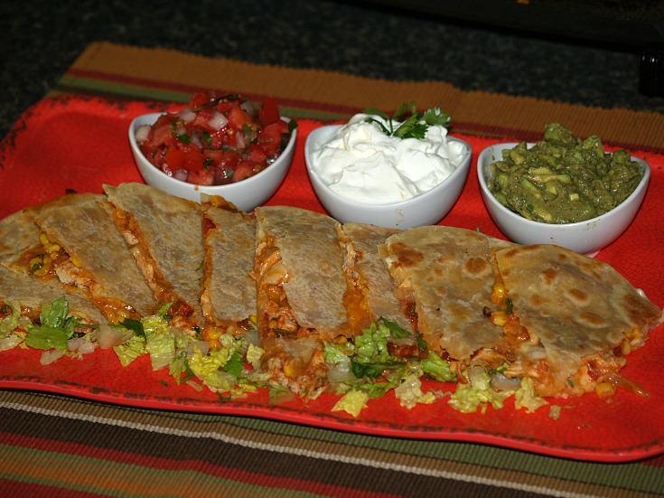 Spicy Chicken Quesadilla Recipe