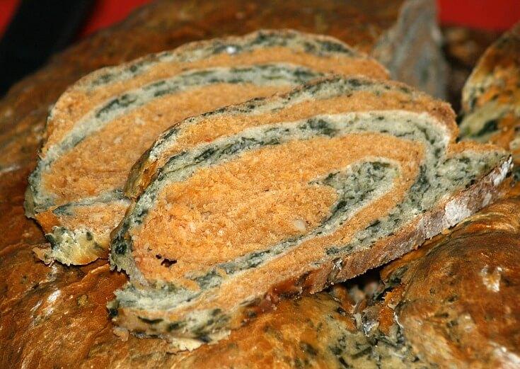 Spinach Tomato Bread Recipe