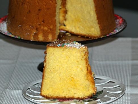 piece of sponge cake