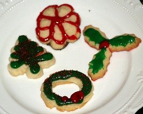 Spritz Cookie Recipe