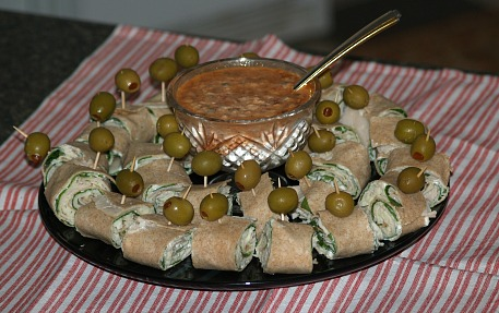 Turkey Pinwheel Appetizer Recipe