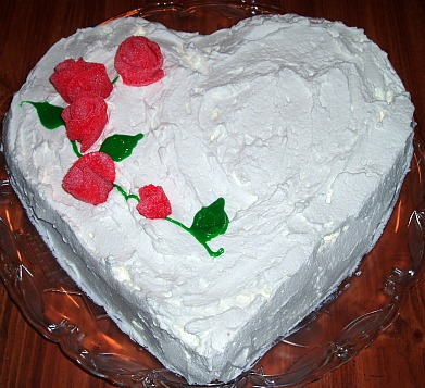 How to Make an Easy Valentine Cake Recipe Shaped in a Heart