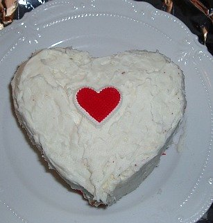 Chocolate Cake Recipe Baked in a Heart Pan