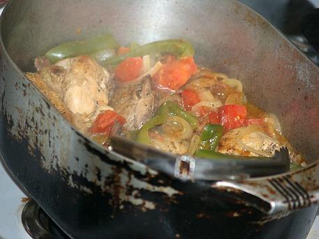 Cooking Velveeta Chicken Cacciatore