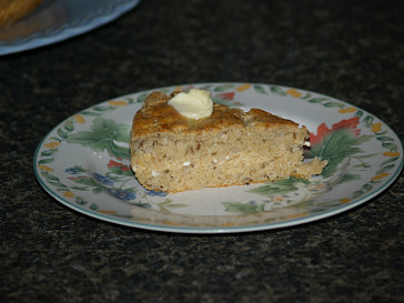 A Slice of Onion Dill Bread