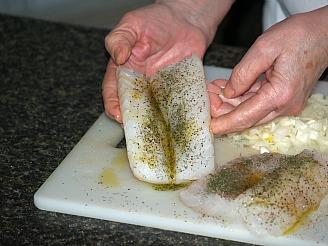 Seasoned Cod Ready to Bake