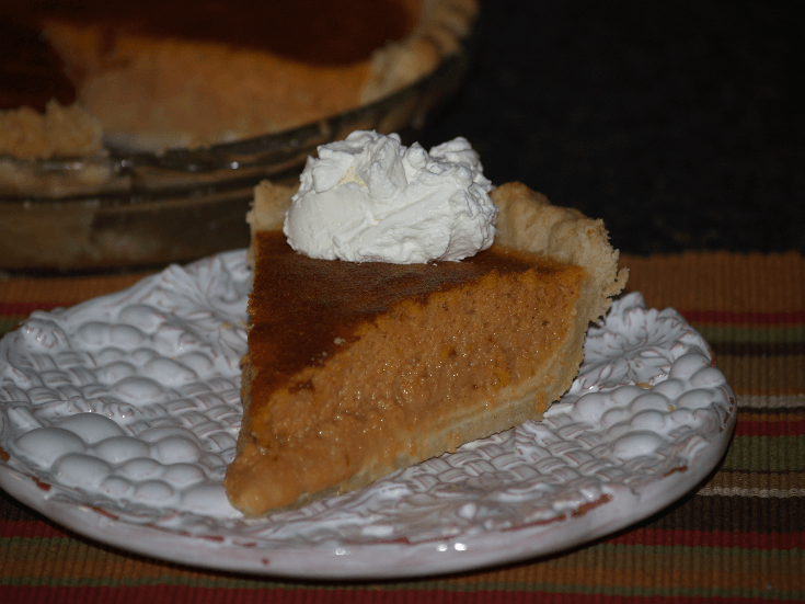 Whiskey Pumpkin Pie Recipe