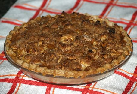 Whole Dutch Apple Pie