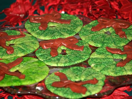 Soft Sugar Cookie Recipe Shaped as Wreaths