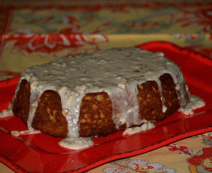 Austrian Almond Bread with Glaze